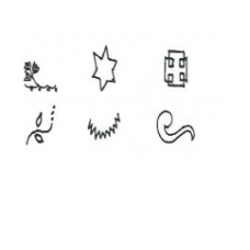 EMBOSSERS Set  3 BORDER DESIGNS SLIGHTLY LARGER SHAPES SCROLLS, STARS