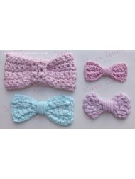 Crochet Bow Mould