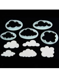CLOUDS SET OF 5