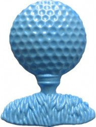 First Impression Molds Golf Ball On Tee