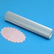 PME Aluminium Ribbed/Smocking Rolling Pin