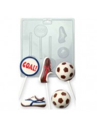 PME CANDY MOULD - FOOTBALL SOCCER
