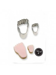 Pme Cookie & Cake Foot Cutter Set Of 2