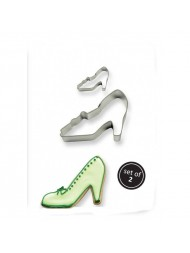 Pme Cookie & Cake High Heel Cutter Set Of 2
