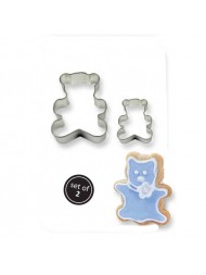 Pme Cookie & Cake Teddy Cutter Set Of 2