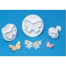 PME Veined Butterfly Set Of 3