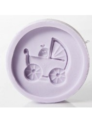 Pram cup cake mould