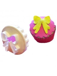 Cupcake Bow/Scallop
