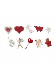 Heart & Cherubs Cutter Set